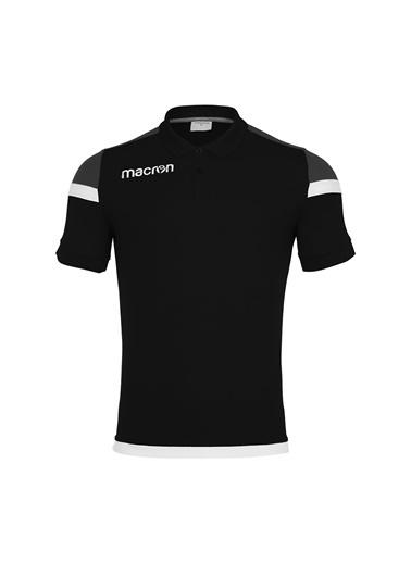 Macron Tişört Siyah